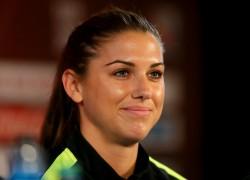 Alex Morgan - Women's World Cup, news conference x5