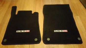 Fs Black Srt 6 Logo D Floor Trunk And Fender Mats