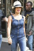 Jada Pinkett Smith - Leaving her hotel in London (7/05/15)