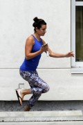 Lea Michele - Heads To Workout In NOLA - 07/07/2015