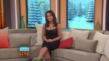 LACEY CHABERT - Access Hollywood Live 07.08.15