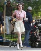 Kristen Stewart - On set of a new Woody Allen Film in LA 8/21/15