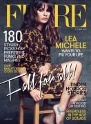 Lea Michele - Flare Magazine - October-2015 - Cover Photoshoot