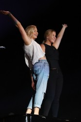 Jennifer Lawrence & Amy Schumer - at the Billy Joel Concert in Chicago 8/27/15