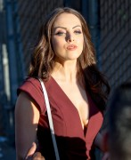 Elizabeth Gillies | Arriving @ Jimmy Kimmel Live in Hollywood | September 3 | 30 pics