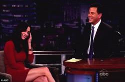 Courteney Cox on Jimmy Kimmel 2012