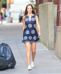 Hilary Swank spotted having lunch with a mystery pal September 11-2015 x68