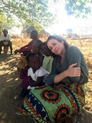Patricia Heaton in Zambia 3