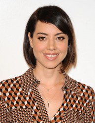 Aubrey Plaza - MOCA's 9th Awards to Distinguished Women in the Arts in Beverly Hills 10/28/15