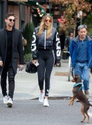 Gigi Hadid - out and about in New York October 31, 2015