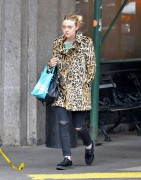 Dakota Fanning - Out and about in NYC November 13, 2015
