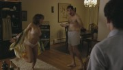 Jennifer Grey - Red Oaks Season 1 (undies/sideboob) 720p