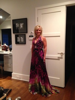 GRETCHEN CARLSON *2013 Miss America dress*