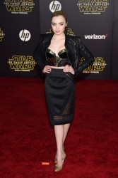 Peyton Roi List - Star Wars: The Force Awakens premiere 12/14/15