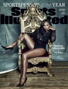 Serena Williams-  Sports Illustrated Cover December 2015.