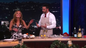 GIADA DE LAURENTIIS - Jimmy Kimmel 12.17.15