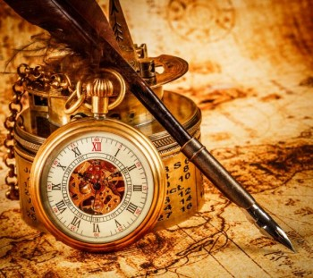 Старинные часы в качественных обоев и фото