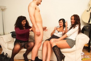 HeyLitleDick - Crystal Coxx, Gilly Sampson, Holly Adams - Thought You Were Gay