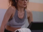 Dina Meyer - Beverly Hills 90210 Season 4 (sports bra/lingerie)