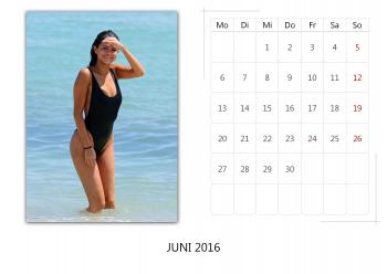 "Selena Gomez ""Selfmade Calendar 2016"" ( 12x ) C7ed50455014931"