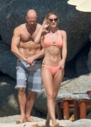 Rosie Huntington-Whiteley - Bikini Candids in Phuket, Thailand 12/31/15