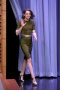 Kristen Stewart -   Jimmy Fallon New York Jan 5th 2016.