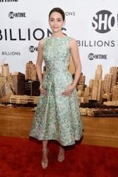 Emmy Rossum - 'Billions' Series Premiere in NYC 1/7/16