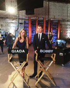 Giada de Laurentiis - First day back on the set of Food Network Star