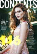 Zoey Deutch-   Cosmopolitan Magazine February 2016.