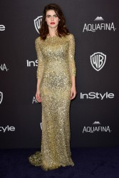 Alexandra Daddario - InStyle And Warner Bros 2016 Golden Globe Awards After Party in Beverly Hills 1/10/16