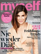 Sandra Bullock-  	Myself Magazine Germany February 2016.