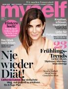 Sandra Bullock-  Myself Magazine Germany February 2016.