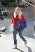 Dakota Fanning - on the Set of 'Please Stand By' in Los Angeles January 13, 2016