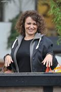 Nadia Sawalha - ITV Studios, London, 18-Dec-15