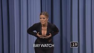 Khloe Kardashian and Norman Reedus The Tonight Show Starring Jimmy Fallon 01/14/2016 HD