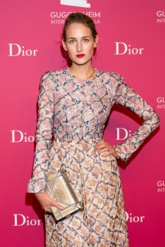 Leelee Sobieski - Guggenheim International Gala Dinner, 5th November 2015