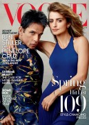 Penelope Cruz -         With Ben Stiller Vogue (US) February 2016 HQ.
