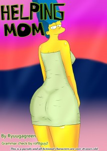 HELPING MOM - THE SIMPSONS from RYUUGAGREEN