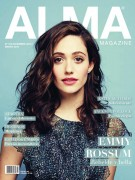 Emmy Rossum-    Alma Magazine Dec/Jan 2015-16.