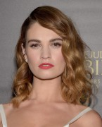 Lily James-          Pride and Prejudice And Zombies Premiere Los Angeles January 21st 2016.