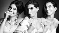 Anne Hathaway, Emmanuelle Chriqui, Jessica Alba, Katie Holmes (Wallpaper) 6x