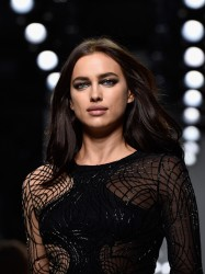 Irina Shayk - Versace Haute Couture Spring Summer 2016 Fashion Show in Paris 1/24/16