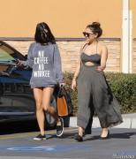 Vanessa & Stella Hudgens - Leaving Walgreens in Studio City 1/25/16