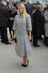 Gwyneth Paltrow - Chanel Haute Couture SS 16 Fashion Show in Paris 1/26/16