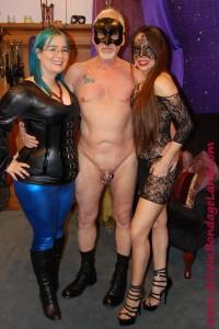 AliceInBondageLand - Amateur Couple FemDom Lessons - Chastity CBT Threesome