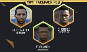 FacePack 18 FIFA 16 WWT FIFA Mods
