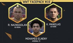 FIFA16 WWT FIFA Mods FacePack 16
