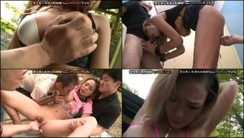 SORA086 Shion Fujimoto - Deeply Tan Trendy Gal Disgraced Outdoors