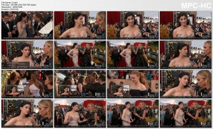 SARAH SILVERMAN *wow, cleavage, hot lowcut* 2016 SAG Awards - E! Red Carpet - 30 JAN 2016