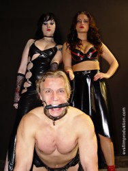 Schlagendegirls - Two charming and very dominant ladies